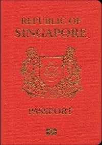 Pasport Biometrik Pangkalan Data Singapura yang didaftarkan untuk dijual secara dalam talian; Singapore passports for sale