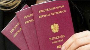 Buy Austrian passports online in the UK